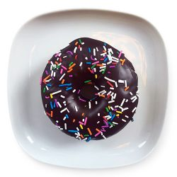 Chocolate Dip with Sprinkles
